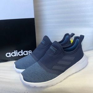 NEW Adidas Lite Racer Slip On Navy with Ortholite
